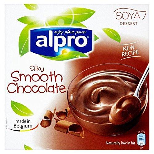 Alpro Cioccolato Di Soia Dolce 4 X 125g
