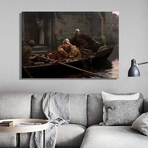NIMCG Quadri Famosi nei Film, Foto Classiche Stampate sulla Tela, Foto fantastiche Decorate in Salotto (Senza Cornice) 40x50 cm
