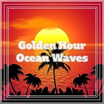 Golden Hour Ocean Waves