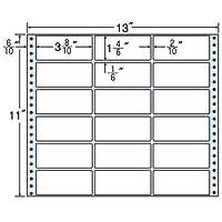 東洋印刷 タックフォームラベル 13インチ ×11インチ 18面付(1ケース500折) MX13A