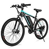ANCHEER Electric Bike Commuter EBike 350W 26'' Electric Mountain...