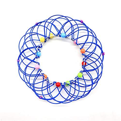Yagerod 1Pcs Mandala Flower Basket Toy, Magic Mandala Flower Basket Toy Transforming 36 Shapes, for Kids Adults Creative Stress Reliever Toys F