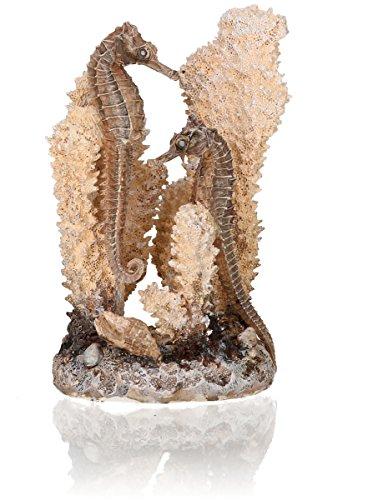 OASE biOrb Seepferdchen S - Aquarium-Deko in Form einer Koralle, Zubehör fürs Aquarium-Becken, 360 Grad Modell natural gestalten