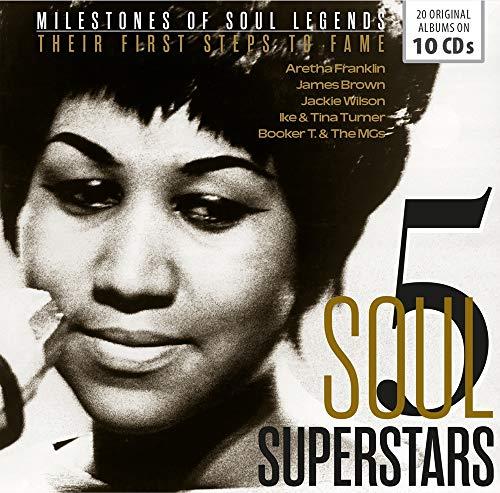 5 SOUL SUPERSTAR: First Steps to Fame (20 Original albums)