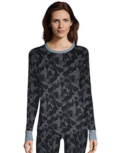 Hanes Women's Waffle Knit Thermal Crewneck❗️Ships directly from Hanes❗️❗️Ships directly from Hanes❗️❗️Ships directly fr❗️Ships directly from Hanes❗️