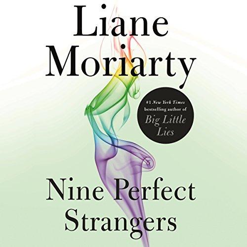 Nine Perfect Strangers audiobook cover art