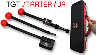 Total Golf Trainer Starter –Junior Kit – Golf Training Aids – Golf Swing Trainer - Teaches and Corrects Golf Swing, The Hanger Setting, Practice full swing, Square clubface - Includes TGT V2 & TGT Hip