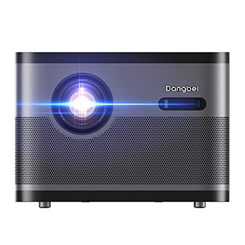 CACACOL Updated Dangbei F3 DLP Android Smart 3D Home Projector | Native 1080P 1920x1080 | 4K Engine Pro | 2050ANSI Lumens | MSD6A938 4GB 64GB | Hi-Fi Speaker