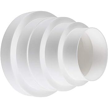 calimaero Redk Conector Reducción Tubo Transición Ventilación Universal 80 100 125 150 mm: Amazon.es: Bricolaje y herramientas