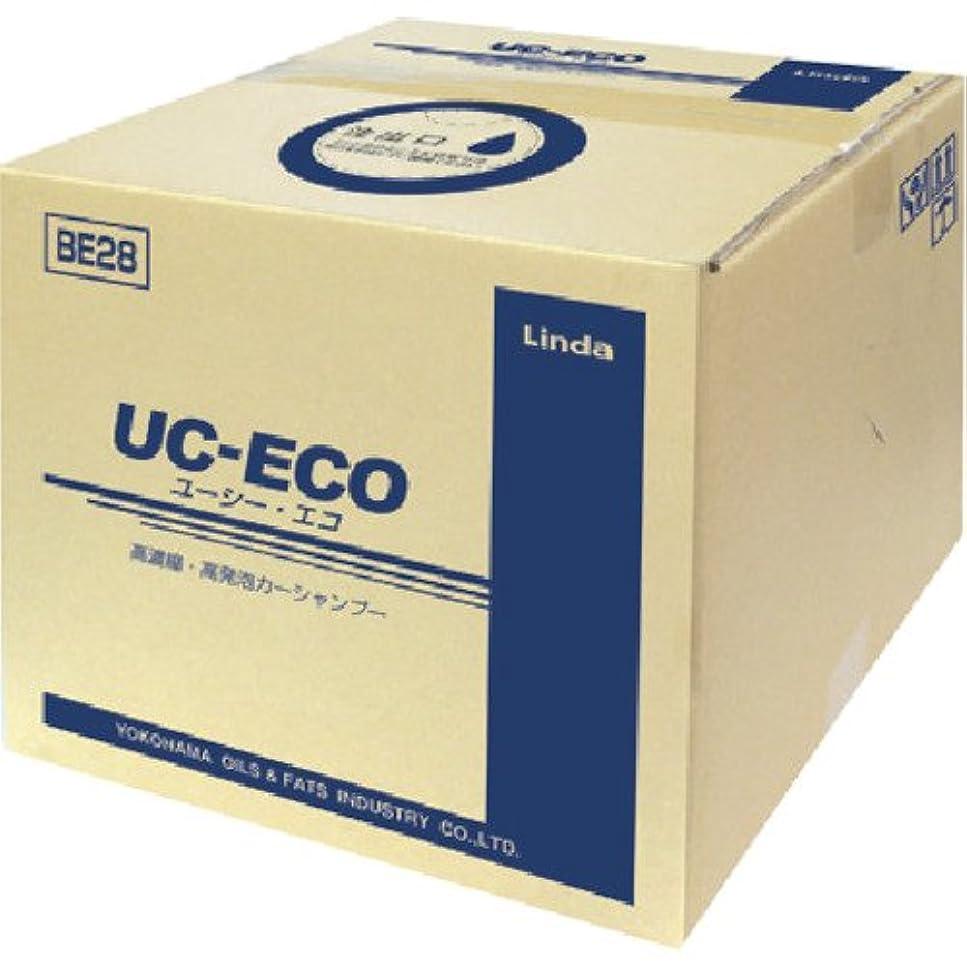 重大ディスパッチアピールLinda ( 横浜油脂工業 ) カーシャンプー UC-ECO 高濃縮?高発泡カーシャンプー BE28