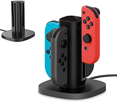 Centeni Switch Joy Con Charging Dock Charge Station for Nintendo Switch Joy-Con
