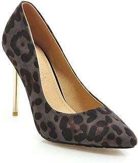 HENG-XIN Pointed Leopard Print Heels