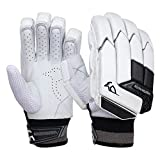 KOOKABURRA Batting Gloves 2020 Shadow 2.3-Guantes de bateo (Tallas Grandes para la Mano Izquierda), Unisex Adulto, Blanco, Over Sized Adult Left Hand
