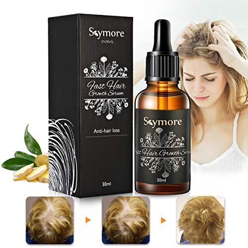 Skymore Fast Hair Growth Serum, Esencia de Crecimiento Rápido del Cabello, Serum de Crecimiento del Cabello, Tratamiento del Cabello para Evitar la Caída del Pelo, Esencia para Cuidado del Cabello