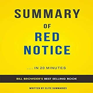 Summary of Red Notice, by Bill Browder audiobook cover art