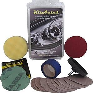 KITAUTOS KF75MM Kit Pulido de Faros, de Material plástico