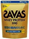 ザバス ホエイプロテイン100 バニラ味1kg