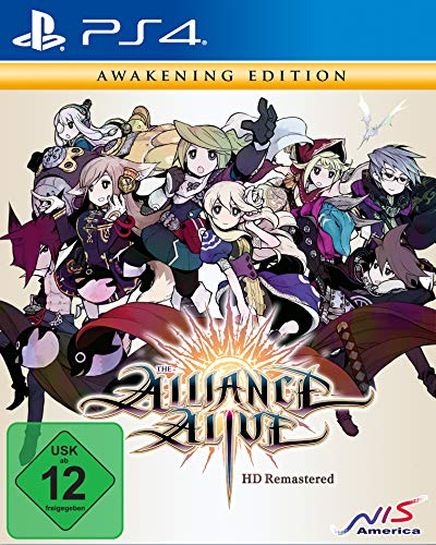 Jogo The Alliance Alive HD Remastered PS4