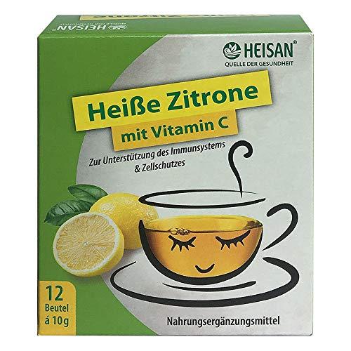 Heisan Heiße Zitrone mit Vitamin C Heißgetränk Pulver, 1er Pack(1 x 149 g)