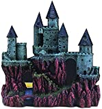 Ybzx Decoración de Acuario Decoración de pecera Adorno Artificial Europeo Rocalla Castillo Paisaje Decoración de Acuario Torres Medievales Decoración de Acuario