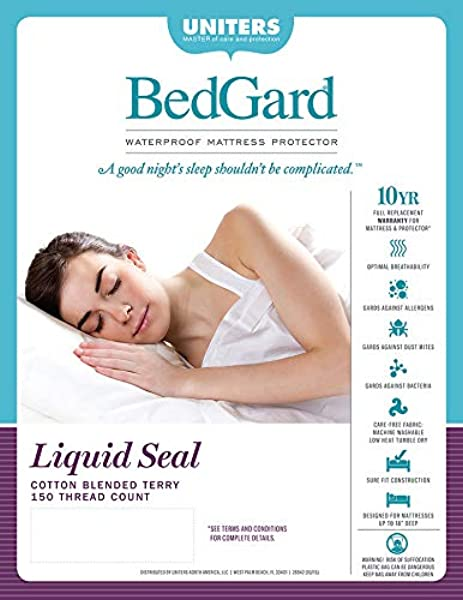 BedGard 10 Year Mattress Protection Full C