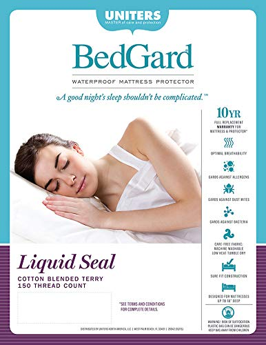 BedGard 10-Year Mattress Protection King (A)