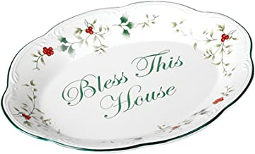 Pfaltzgraff Winterberry Bless This House Plate -