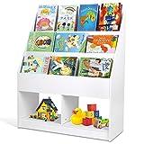 amzdeal - Estantería Infantil, Estantería para Juguetes, Librería para...