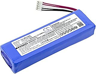 Replacement Battery for JBL Charge 2, Charge 2 Plus, Charge 2+, Charge 3 2015, Charge 3 2015 Version, Part Number GSP1029102R P763098