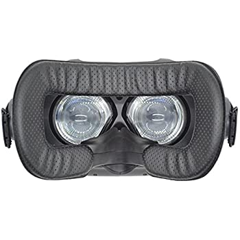 LUCKYBEE HTC Vive用 革材 フェイスクッション 汚れ防止 お手入れ簡単12mm VR MASK