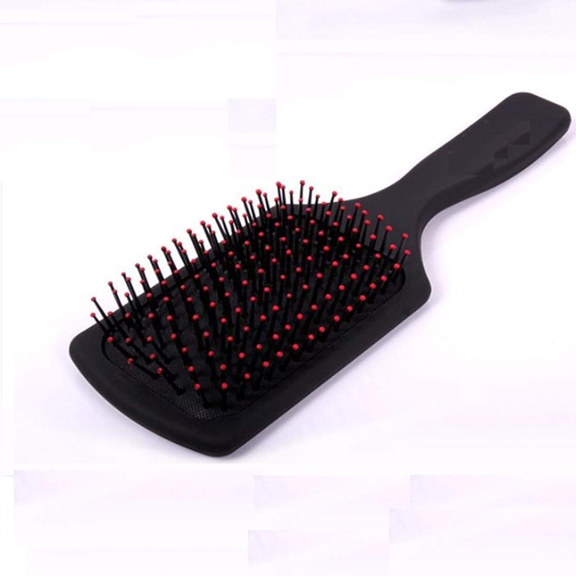 ヘアブラシ - マッサージの櫛毛と頭皮の熱と耐久性のある静電防止櫛サイズL/S (サイズ : L)