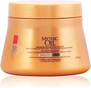 L'óreal Mythic Oil Mask cwith Argan Oil for Thickness Hair - 200 ml