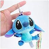 Best Quality - Plush Keychains - Lilo and Stitch Plush Keychain Pendant Toys Cute Doll Soft Stuffed Animals Toys for Children Kids Xmas Gifts 10cm - by NEWSTARWAR - 1 PCs