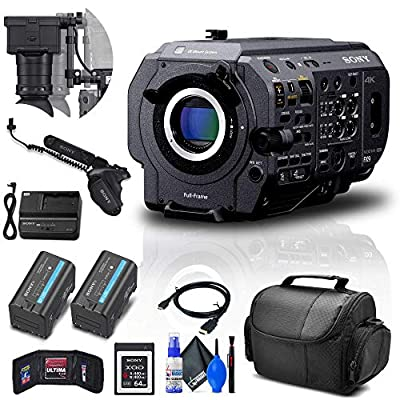 Sony PXW-FX9 XDCAM 6K Full-Frame Camera System (Body Only) (PXW-FX9V) + Sony 64GB XQD Card + BP-U35 Battery + Pro Case + Deluxe Cleaning Set + HDMI Cable + Memory Wallet + More (Renewed) from Sony