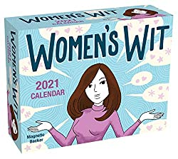 One of the most unique gift ideas for women over 40 is a mini calendar that includes interesting things like quotations and saying that will make your loved one laugh. This calendar features funny and witty quotes by famous women that will put a smile on your loved one's face everyday.