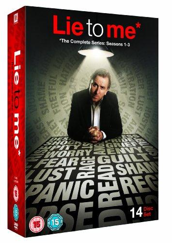 Lie To Me Season 1-3 DVD [Reino Unido]