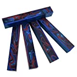 Fire & Ice Acrylic Acetate #52 (1 pc) Pen Blank 3/4' sq x 5'