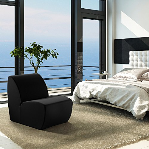 Vivon Stylish Black Chair For Bedroom