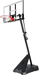 Spalding SN75746CN NBA Basketball System, Black