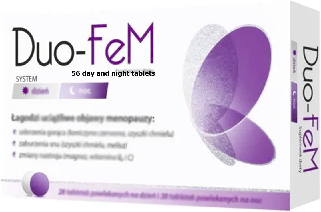 Duo-FeM 56 New popularity 25% OFF Day and Tablets. Polish Made in Distribution Poland.
