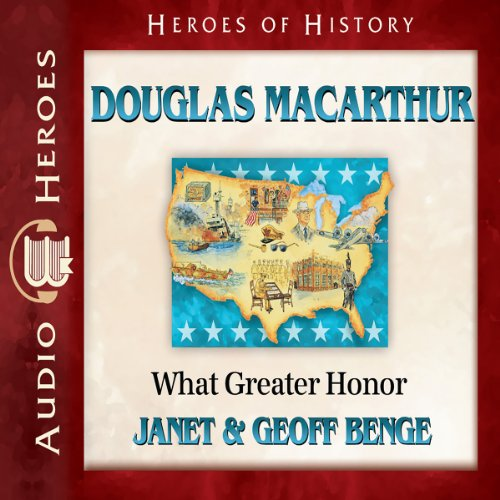 Douglas MacArthur audiobook cover art