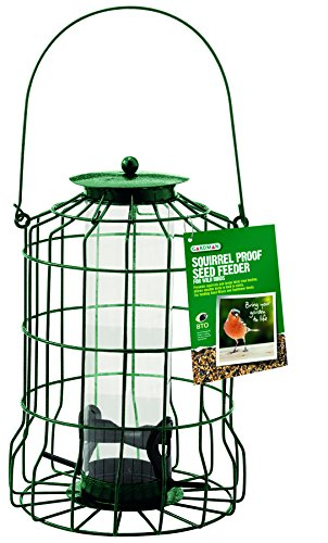 Gardman Squirrel Proof Bird Seed Feeder, Natural, A01620