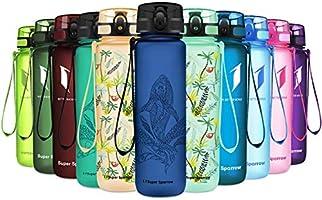 Super Sparrow Trinkflasche - Tritan Wasserflasche - 350ml, 500ml, 750ml, 1000ml - BPA-frei - Ideale Sportflasche -...