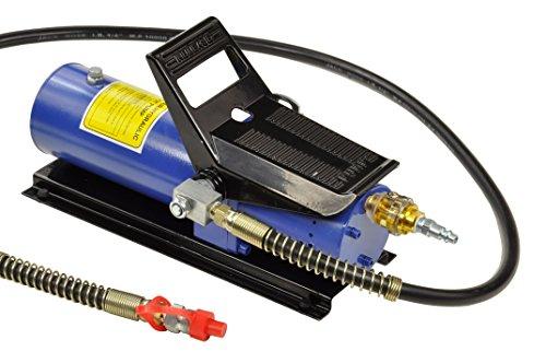 Pro-Lift-Werkzeuge Hydraulikpumpe mit Fußwippe Ölvolumen: 690 cm³ Hydraulikpumpe 700 bar Arbeitsdruck, Ölmenge 690ml hydraulic pump Druckzylinder