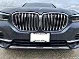 TN TrunkNets Inc A NASA-Like Rubber Front License Plate Frame Tag Holder Guard Bumper for BMW