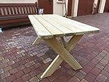 Platan Room Gartenmöbel aus Kiefernholz Gartentisch Kiefer Holz massiv - 5