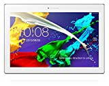 Lenovo TAB 2 A10-70F 25,6 cm (10,1 Zoll Full HD IPS) Media Tablet (MediaTek MT8165 Quad-Core Prozessor, 1,5GHz, 2GB RAM, 32GB eMMC, 5MP + 8MP Kamera, Dolby Atmos Sound, Android 5.1) pearl white