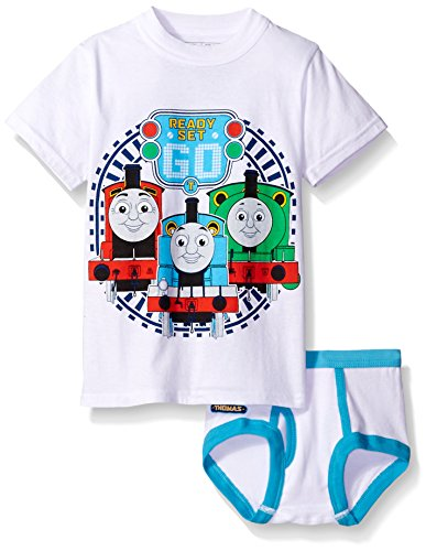 Thomas & Friends the Train Toddler Boys_ Thomas Underwear and T-Shirt Set Assorted 2T/3T