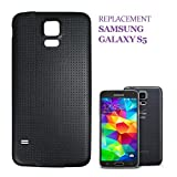 swark Akku Deckel Backcover Kompatibel mit Samsung Galaxy S5 G900F Schwarz Akkudeckel