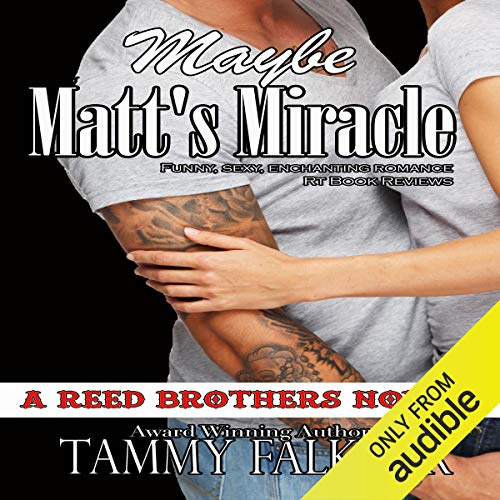 Maybe Matt's Miracle audiobook cover art